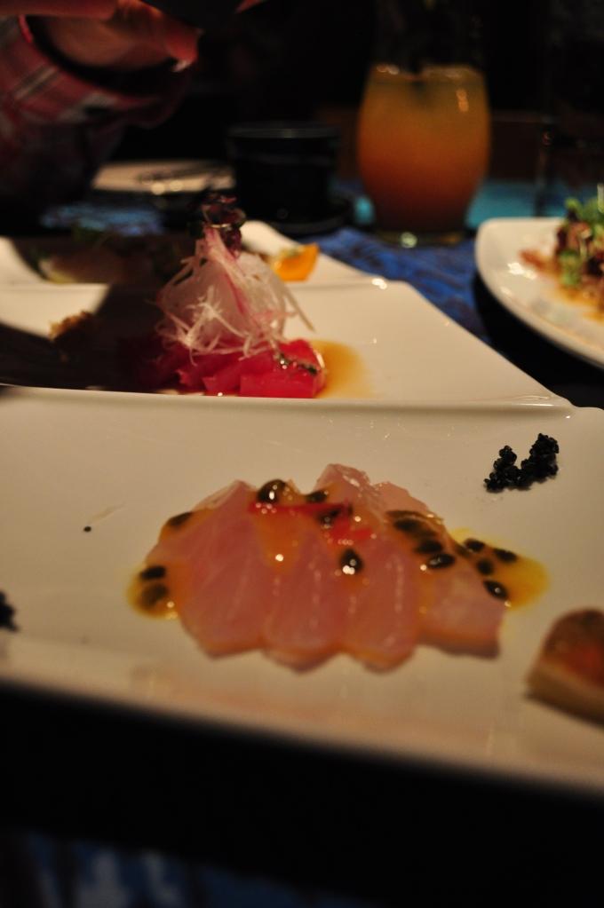 Three Fish Sashimi