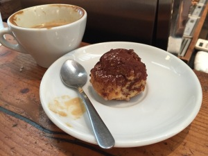 Bigné (notice the spelling difference) Decadent, light, fluffy balls from heaven. A cross between cream puff and mousse.